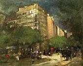 Cafe du Dome 1892 By Robert Henri