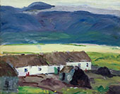 Cottages County Mayo By Robert Henri