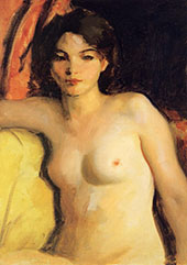 Doris Trautman 1928 By Robert Henri