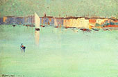 Early Morning Venice 1891 By Robert Henri