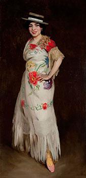 El Tango 1908 By Robert Henri