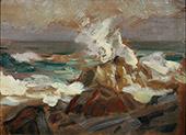Flying Spray By Robert Henri