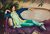 Gertrude Vanderbilt Whitney By Robert Henri