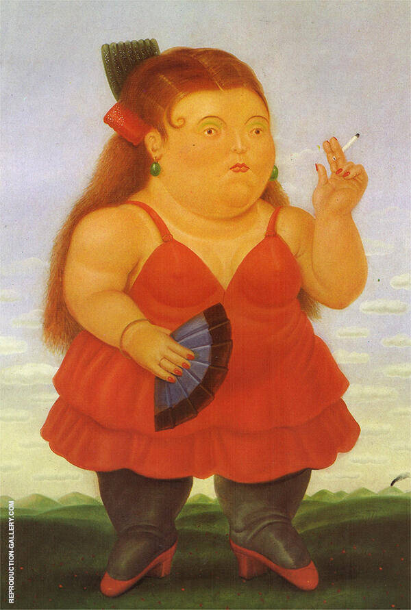 Spanish Painting By Fernando Botero - Reproduction Gallery