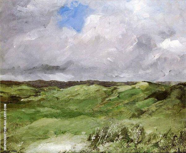 Gray Dunes By Robert Henri