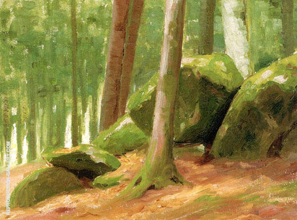 In The Woods c1890 By Robert Henri