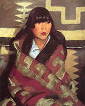 Julianita 1917 By Robert Henri