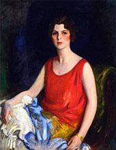 Loretta Hines Howard By Robert Henri