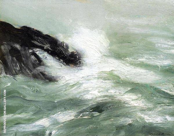 Marine Storm Sea 1911 By Robert Henri