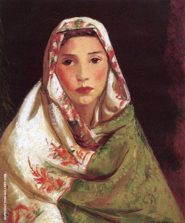 Mexican Girl Maria By Robert Henri