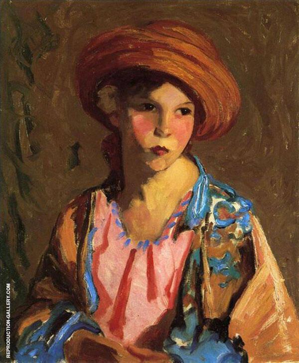Mildred By Robert Henri