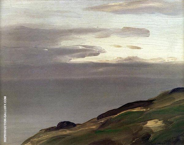 Monhegan Island Maine 1911 By Robert Henri