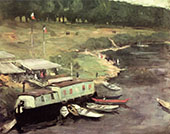 on The Marne 1899 By Robert Henri