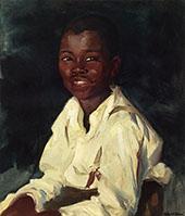 Sylvester Smiling 1914 By Robert Henri