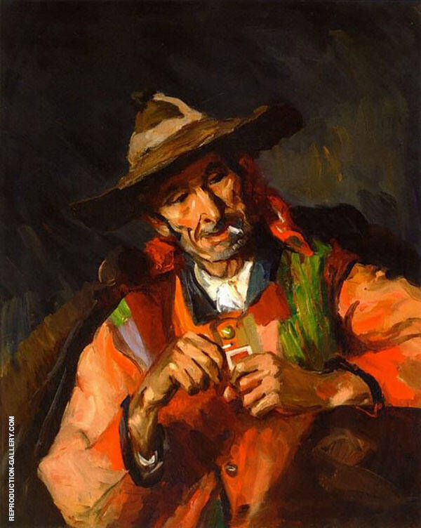 The Old Spaniard 1923 By Robert Henri