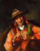 The Old Spaniard 1923 By Robert Henri