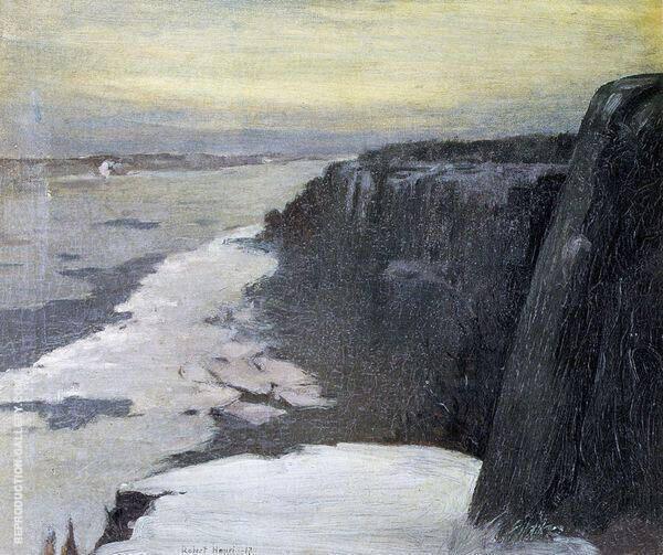 Upper Hudson 1917 By Robert Henri