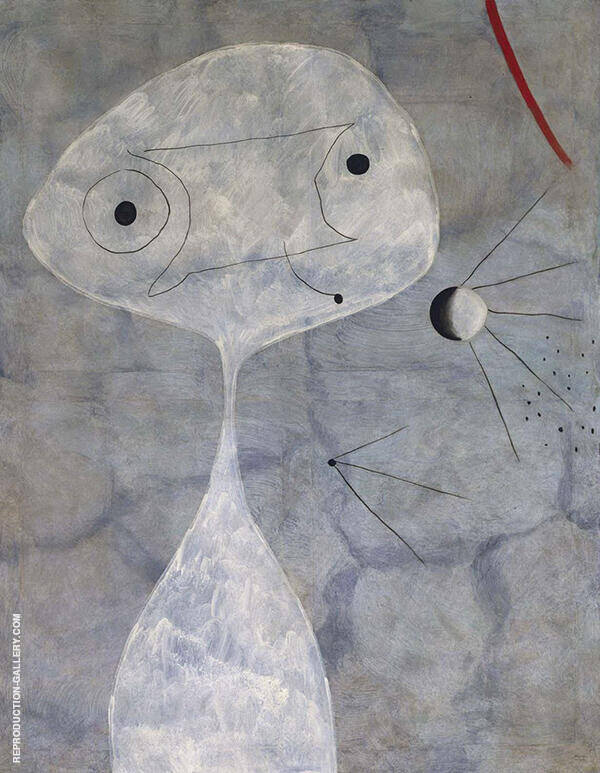 Man with a Pipe 1925 By Joan Miro
