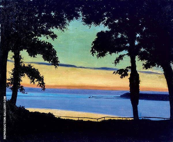 Evening Cote de Grace 1917 By Felix Vallotton