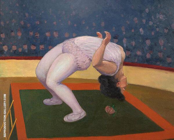 Female Acrobat By Felix Vallotton