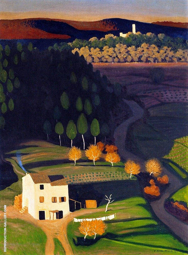 First Rays By Felix Vallotton