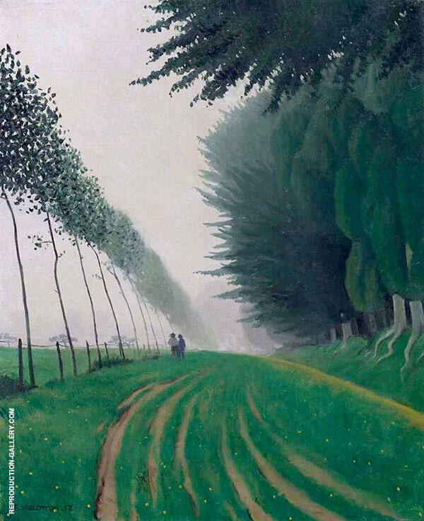 Fog Effect Honfleur By Felix Vallotton
