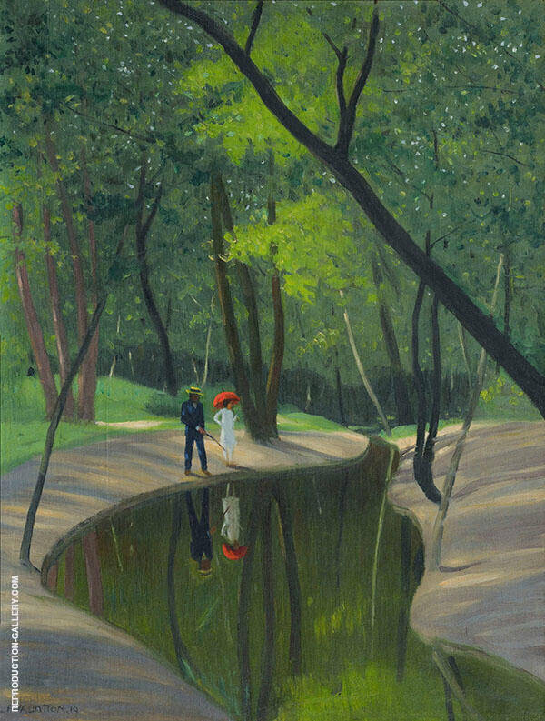 Forest of Boulogne By Felix Vallotton