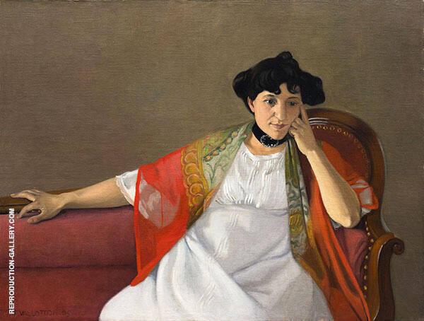 Gabrielle Vallotton 1905 By Felix Vallotton