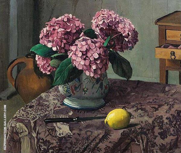 Hortensia and Lemon By Felix Vallotton