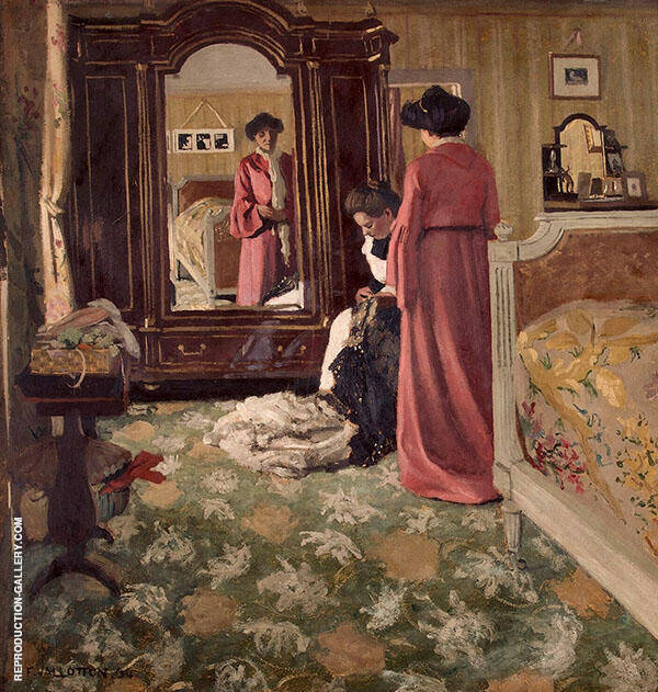 Interior 1904 By Felix Vallotton
