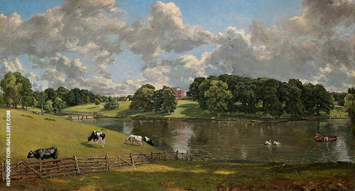 Wivenhoe Park, Essex, 1816 By John Constable