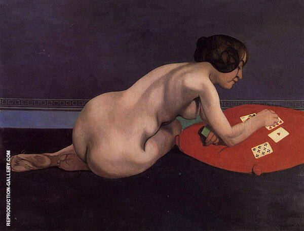 Nude Playing Cards 1912 By Felix Vallotton