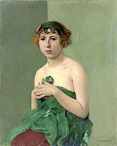 The Green Ribbon By Felix Vallotton