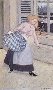 The Laundress 1895 By Felix Vallotton