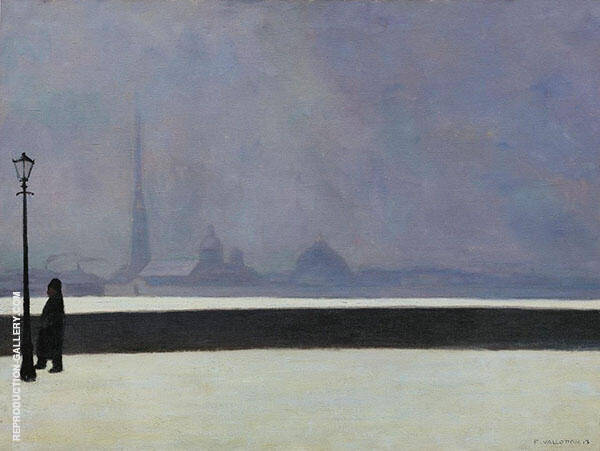 The Neva Light Mist By Felix Vallotton