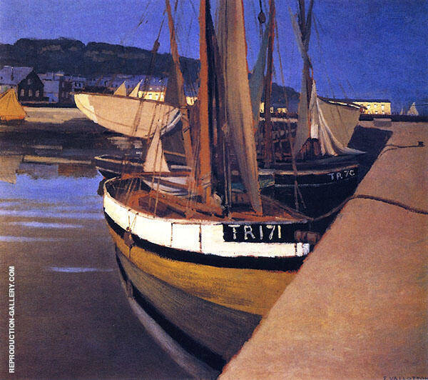 The Port 1901 By Felix Vallotton