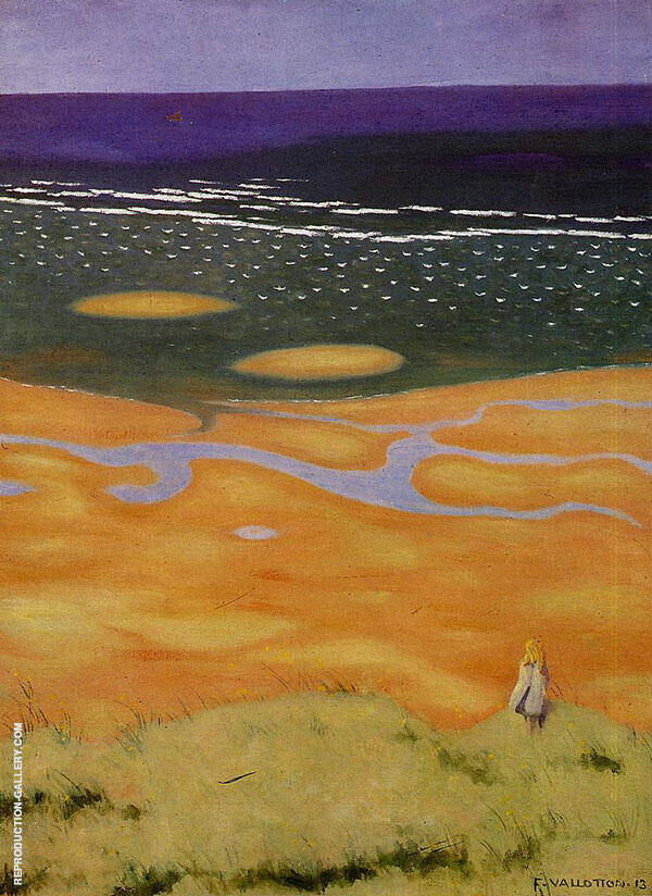 The Rising Tide 1912 By Felix Vallotton