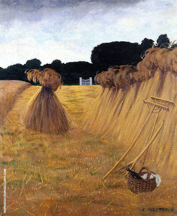 The Sheaves 1915 By Felix Vallotton