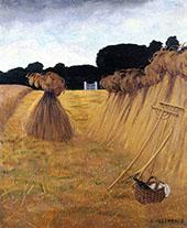 The Sheaves 1915 By Felix Vallotton