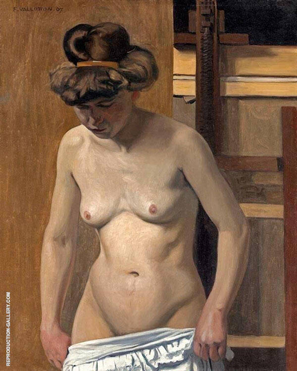 Torso of a Female Nude By Felix Vallotton