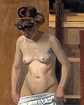Torso of a Female Nude By Felix Vallotton
