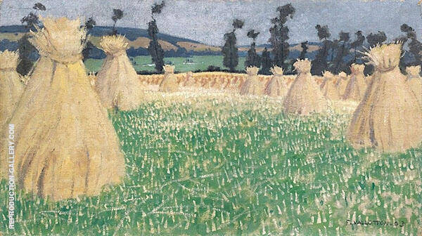 Wheat Arques la Bataille By Felix Vallotton