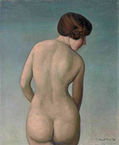 Woman from Behind By Felix Vallotton