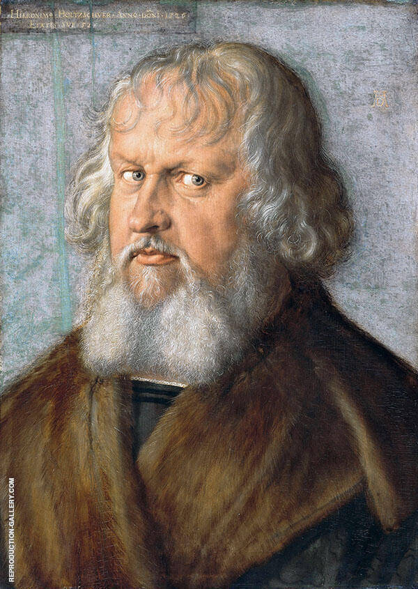 Hieronymus Holzschuher By Albrecht Durer