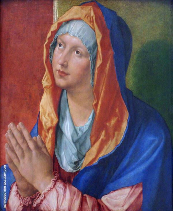 Mary Praying By Albrecht Durer