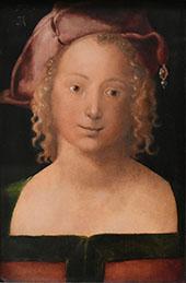 Portrait of A Young Girl 1507 By Albrecht Durer