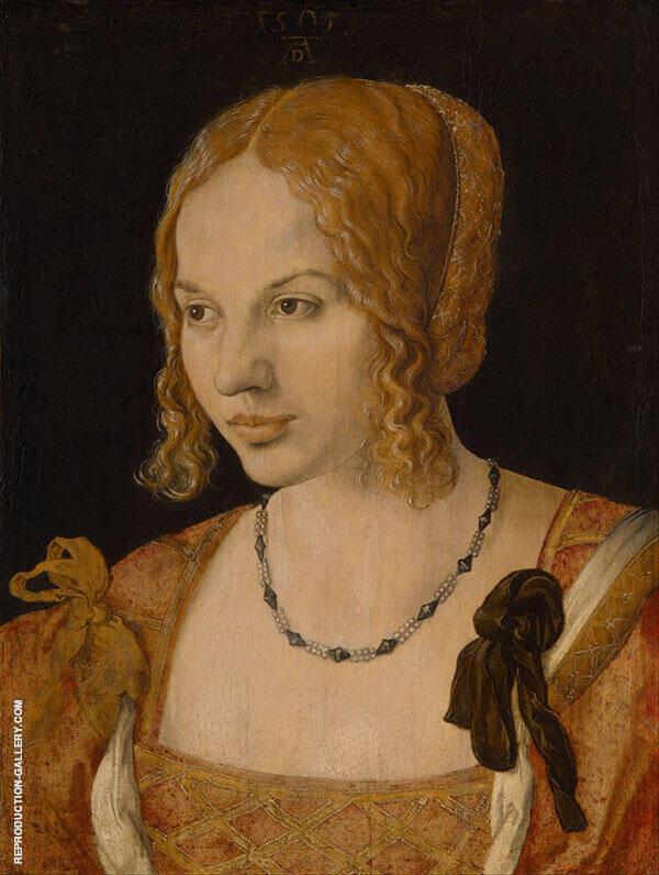 Portrait of a Young Venetian Woman By Albrecht Durer