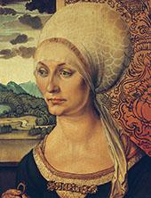 Portrait of Elisabeth Tucher By Albrecht Durer