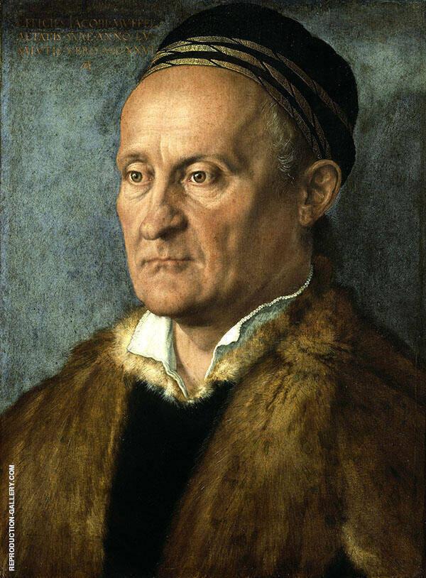 Portrait of Jakob Muffel By Albrecht Durer
