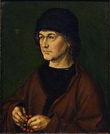 Portrait of The Artist Father By Albrecht Durer